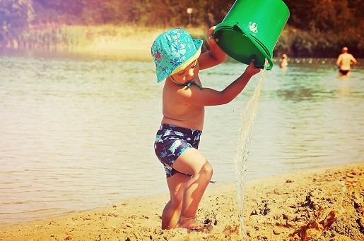 Östringen Niemcy wakacje z dzieckiem plaża