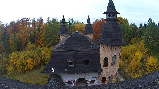 Zamek w Łapalicach na Kaszubach
