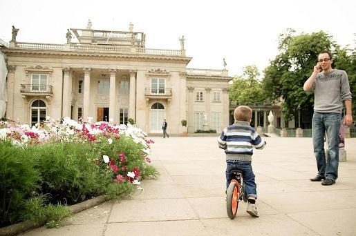 łazienki królewskie Warszawa na spacer z dzieckiem