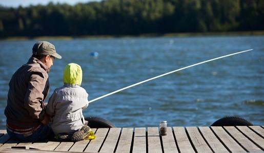 Weekend z dzieckiem - łowienie ryb