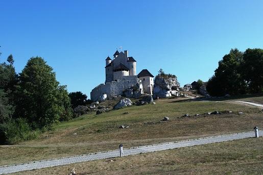 Śląskie Zamek Bobolice atrakcje