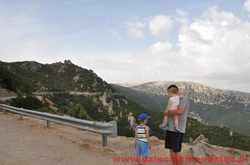 Sardynia atrakcje-panoramiczna droga Baunei- Dorgali i Cala Gonone