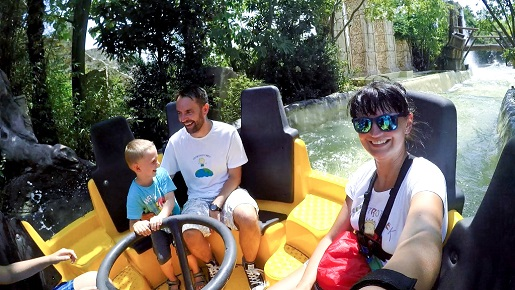 11 Atrakcje parki rozrywki Gardaland opinie