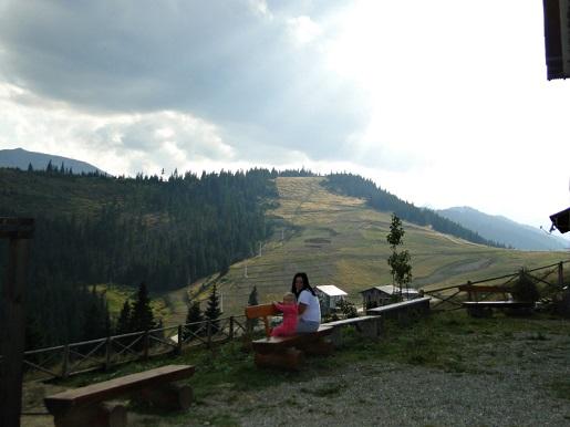 11 Rumunia Przełęcz PRILOP z dzieckiem