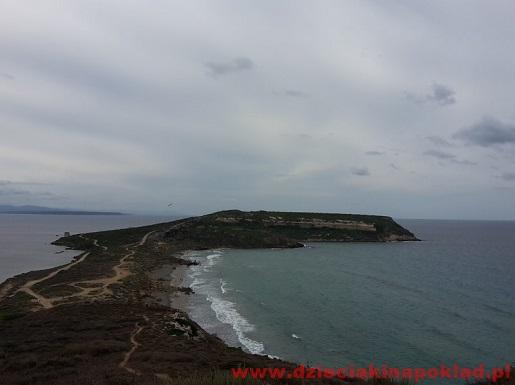 Sardynia Półwysep Sinis atrakcje