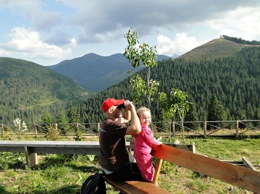12 Rumunia Przełęcz PRILOP z dzieckiem 2