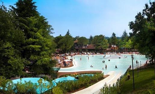 Altomincio Jezioro Garda Włochy camping rodzinny z basenem atrakcjami