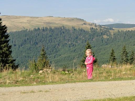 13 Rumunia Przełęcz PRILOP z dzieckiem 2