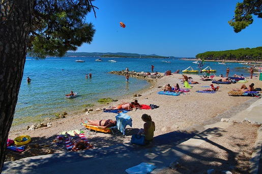 Park Soline Dalmacja Chorwacja najlepszy kemping gdzie z dzieckiem na wakacje
