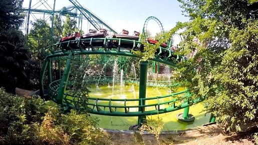 14 Atrakcje parki rozrywki Gardaland opinie