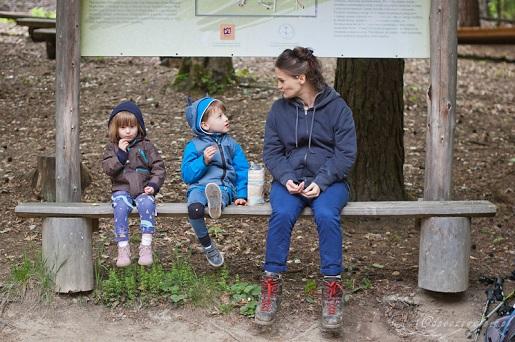 Góry z dwójką dzieci i 6 miesiącu ciąży na wakacje w Beskid Niski