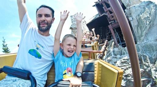 17 Atrakcje parki rozrywki Gardaland opinie z dzieckiem