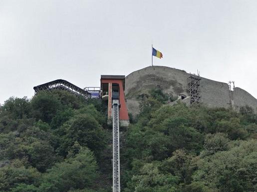 172 Rumunia Deva punkt widokowy