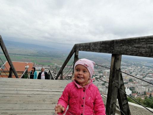 173 Rumunia Deva punkt widokowy