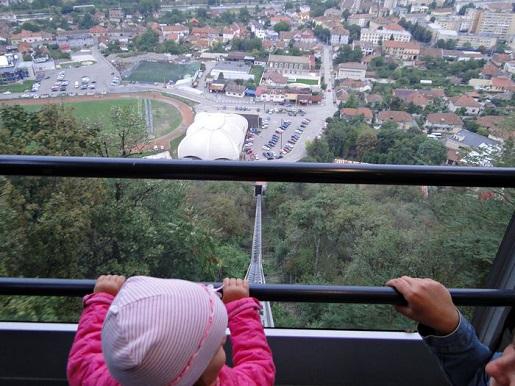 174 Rumunia Deva punkt widokowy