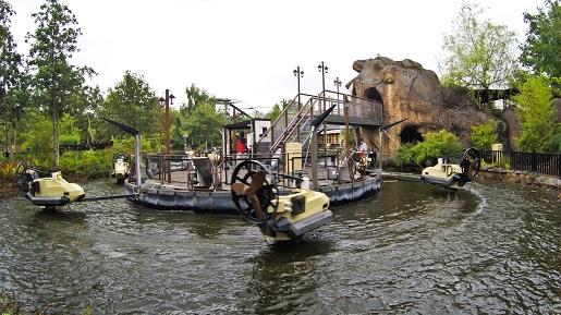 atrakcje dla dzieci Jungle Racers  LEGOLAND Billund atrakcje