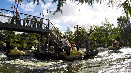 Wodne atrakcje LEGOLAND Jungle Racers