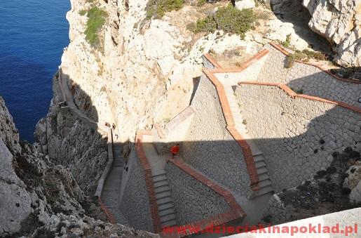 Sardynia Capo Caccia Grota Neptuna - atrakcje