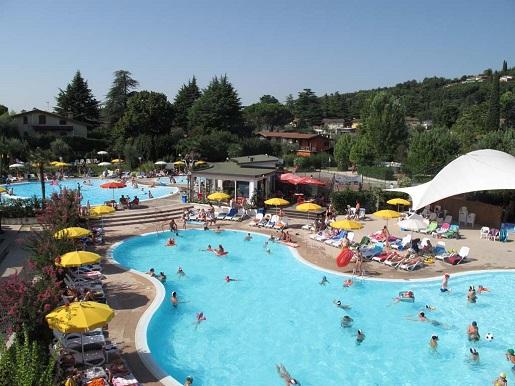 Europa Silvella Jezioro Garda Włochy najlepszy kemping