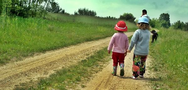 wakacje na wsi z dzieckiem