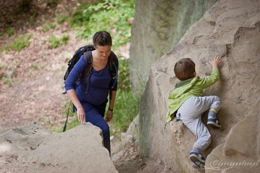 21 Skamieniałe Miasto Ciężkowice z dziećmi szlaki zwiedzanie