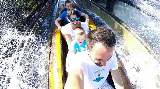 22 wodne atrakcje park rozrywki Gardaland Włochy opinie