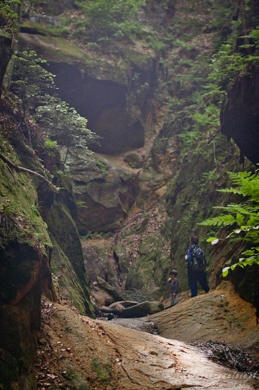 Beskid Niski Skamieniałe Miasto Ciężkowice