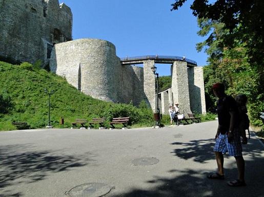 33 Rumunia Zamek Targu Neamt wakacje z dzieckiem opinie