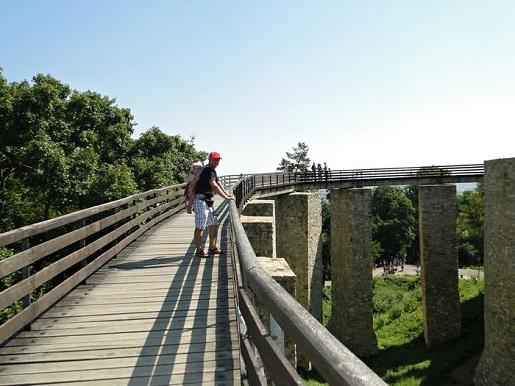 34 Rumunia Zamek Targu Neamt wakacje z dzieckiem opinie