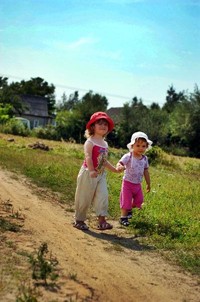 Z dzieckiem na wsi wakacje
