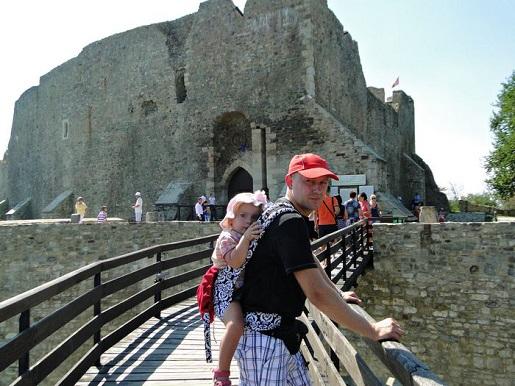 35 Rumunia Zamek Targu Neamt wakacje z dzieckiem opinie