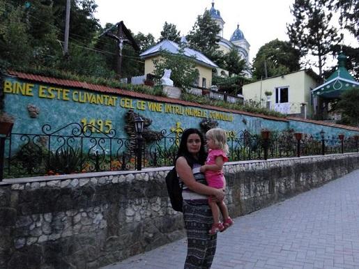 47 Mołdawia Monastyr Saharna wakacje z dzieckiem opinie