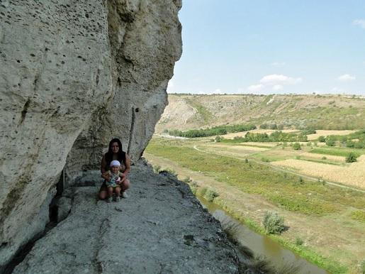 50 Mołdawia  z dzieckiem-Zwiedzamy kompleks Orheiul Vehi