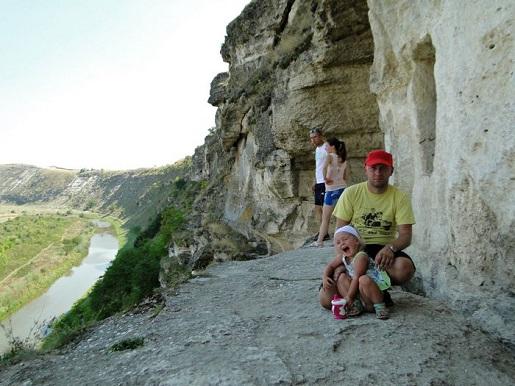 51 Mołdawia  z dzieckiem-Zwiedzamy kompleks Orheiul Vehi