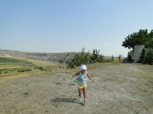 53 Mołdawia  z dzieckiem-Zwiedzamy kompleks Orheiul Vehi