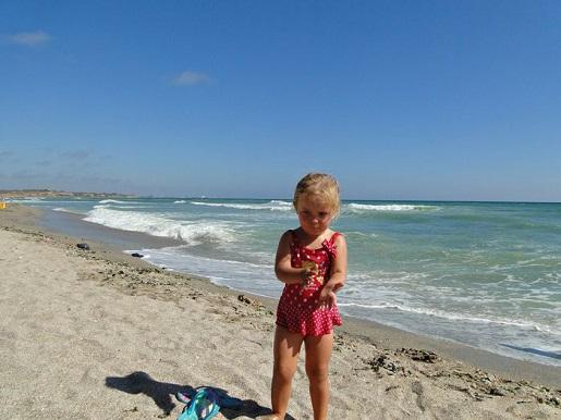 69 Rumunia Morze Czarne z dzieckiem wakacje Vama Veche