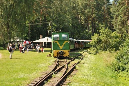 7 stacja sypitki Mazury Kolej Wąskotorowa