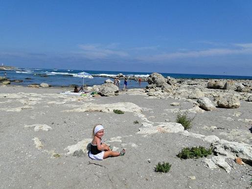 75 Bułgaria plaża z dzieckiem wakacje