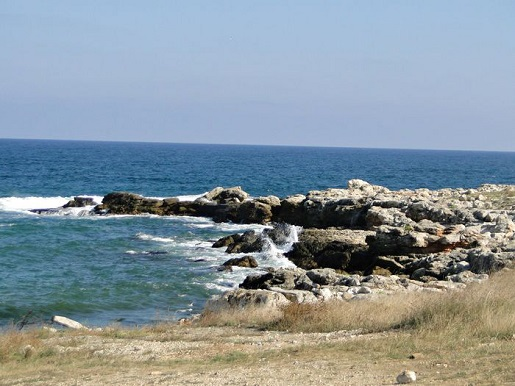 77 Bułgaria plaża z dzieckiem wakacje