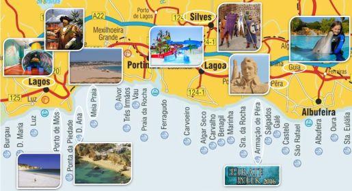 rodzinne atrakcje Algarve Portugalia