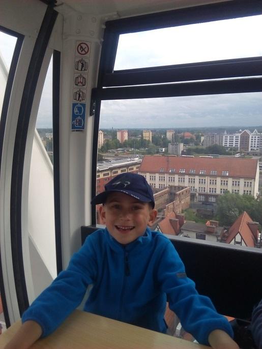 Amber Sky Gdańsk z dzieckiem