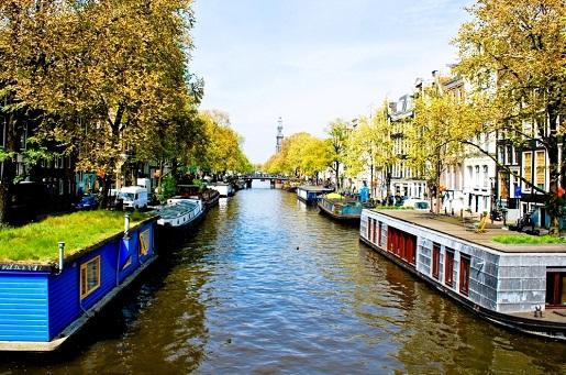 Amsterdam Domy na wodzie - atrakcje