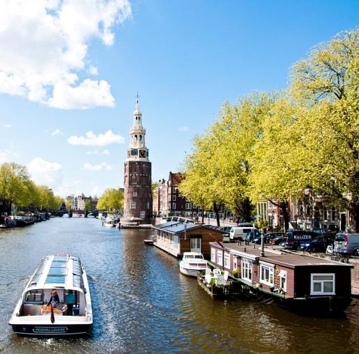 Amsterdam najlepsze atrakcje zwiedzanie z dzieckiem rowerem