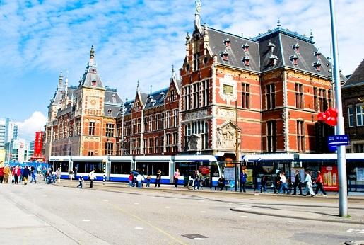 Amsterdam z dzieckiem zwiedzanie rowerem
