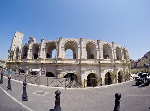 Arles Amfiteatr- z dzieckiem gra miejska atrakcje