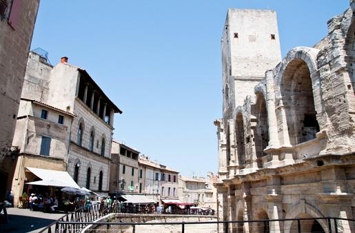 Arles Francja Prowansja - z dzieckiem gra miejska atrakcje