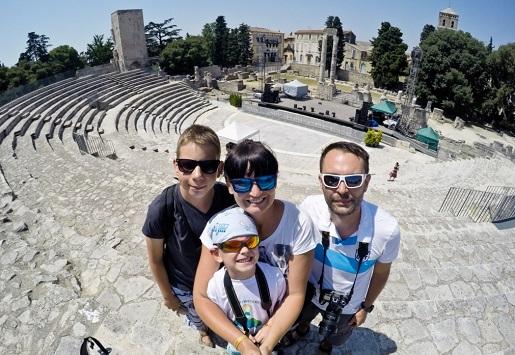 Francja - Rodzinna Gra - zwiedzanie z dzieckiem