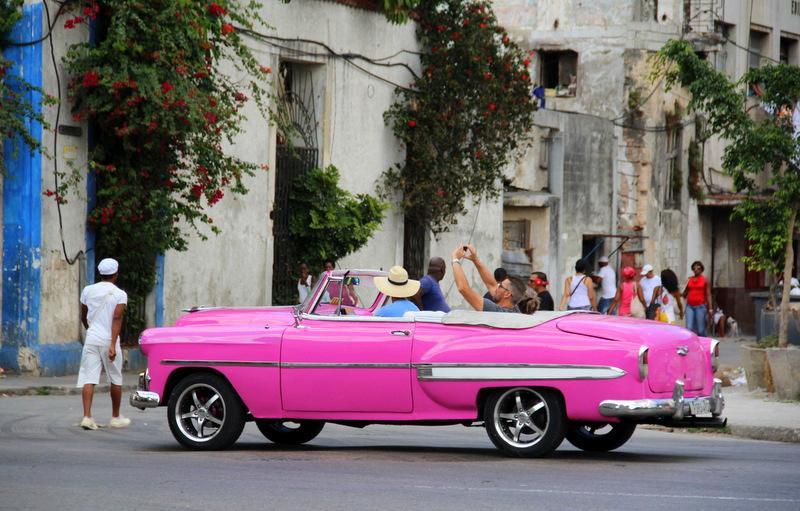 Auta na Kubie - rodzinna wycieczka na Kubę