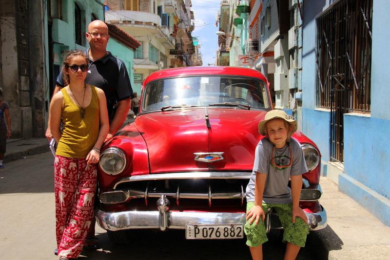 Samochody na Kubie - rodzinna wycieczka na Kubę