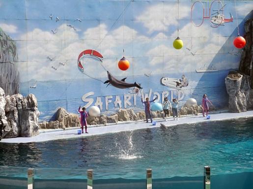 Bangkok atrakcje dla dzieci Safari World opinie
